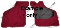 Austin 7 Ruby MkI 1935 to 1936 Overmat Set of 2 - Kensington Luxury Wool Range